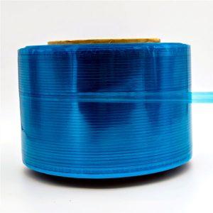 Modrý film Courier Bag Sealing Tape