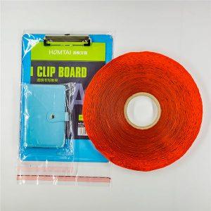 Vlastné tlačené plastové vrecko tesniace pásky