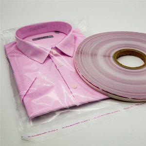 OPP taška tesniace pásky pre oblečenie tašky